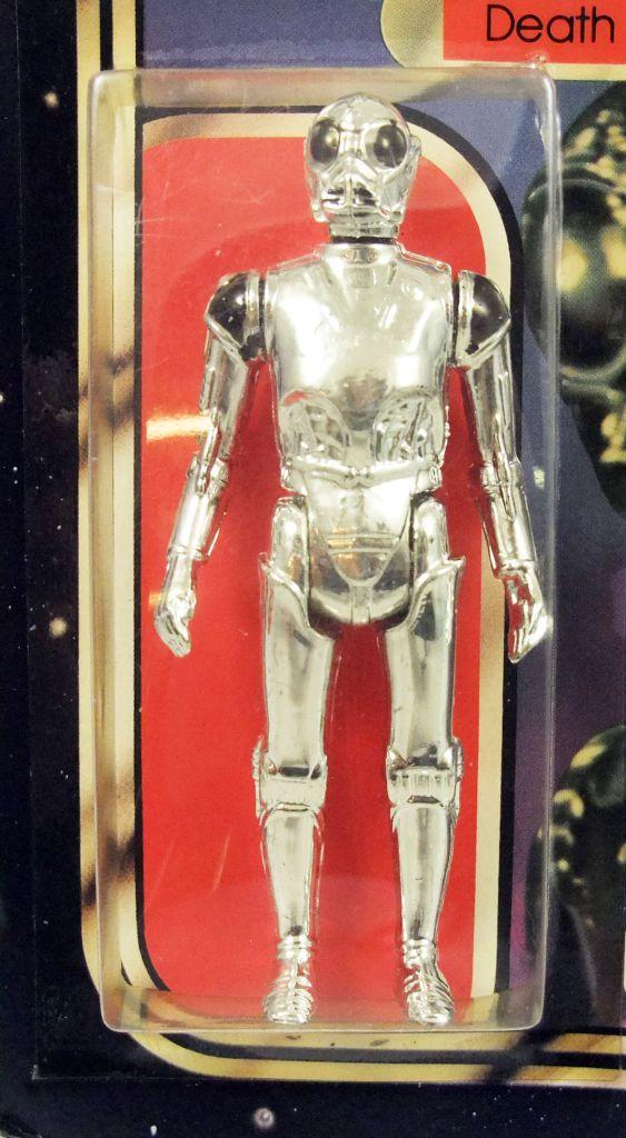 Star Wars La Guerre des Etoiles 1981 - Meccano - Death Star Droid - carte carrée 20-C cardback