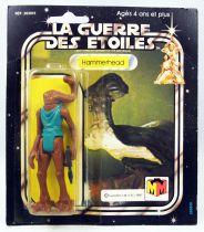 Star Wars La Guerre des Etoiles 1981 - Meccano - Hammerhead - square card 20-C cardback