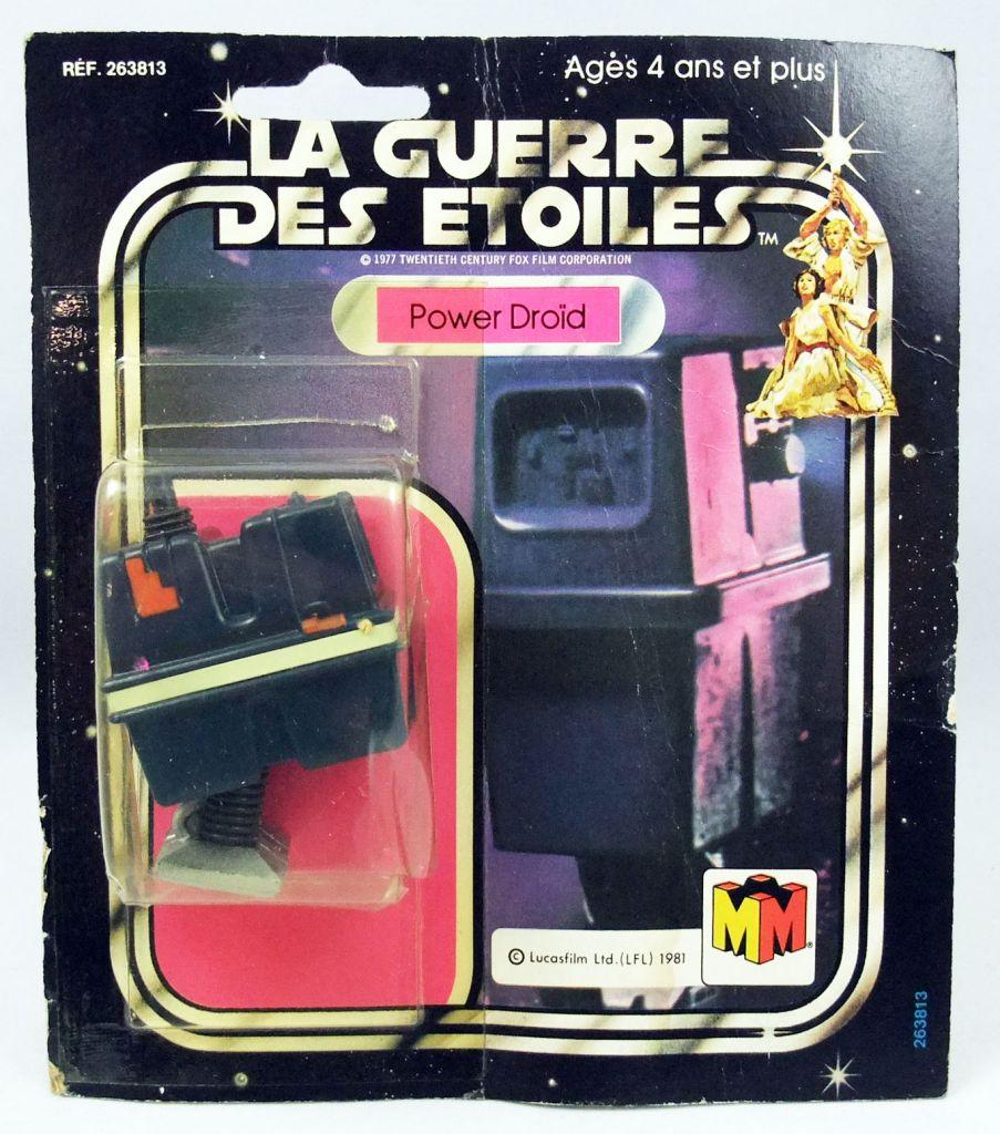 Star Wars La Guerre des Etoiles 1981 - Meccano - Power Droid - carte carrée