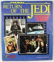 Star wars Le Retour du Jedi - Album Collecteur de Vignettes Panini (Supplément Pif Gadget)
