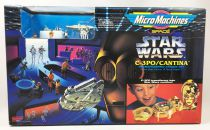 Star Wars MicroMachines - C-3PO/Mos Eisley Playset - Galoob-Ideal