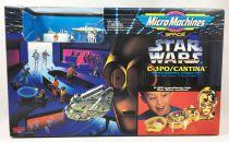 Star Wars MicroMachines - C-3PO/Mos Eisley Playset - Galoob-Ideal
