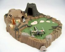 Star Wars MicroMachines - Dagobah Playset - Galoob-Ideal (occasion) 01