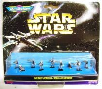Star Wars MicroMachines - Rebel Soldiers - Galoob-Ideal