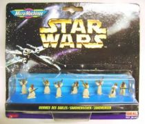 Star Wars MicroMachines - Sandmen (Tusken Raiders) - Galoob-Ideal