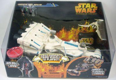 Star Wars Revenge Of The Sith Micromachines Mustafar Duel Battle Set