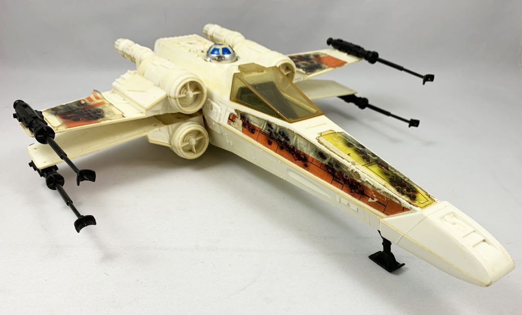 Star Wars ROTJ 1983 - Kenner - X-Wing Fighter \'\'Battle-Damaged\'\' (occasion)