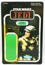 Star Wars ROTJ 1983 - Kenner (Canada) 77back - Princess Leia Organa (in Combat Poncho)