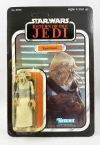 Star Wars ROTJ 1983 - Kenner (Takara) 65back - Squid Head