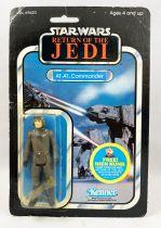 Star Wars ROTJ 1983 - Kenner 48back A - AT-AT Commander (Palitoy Customer Serv. Sticker)