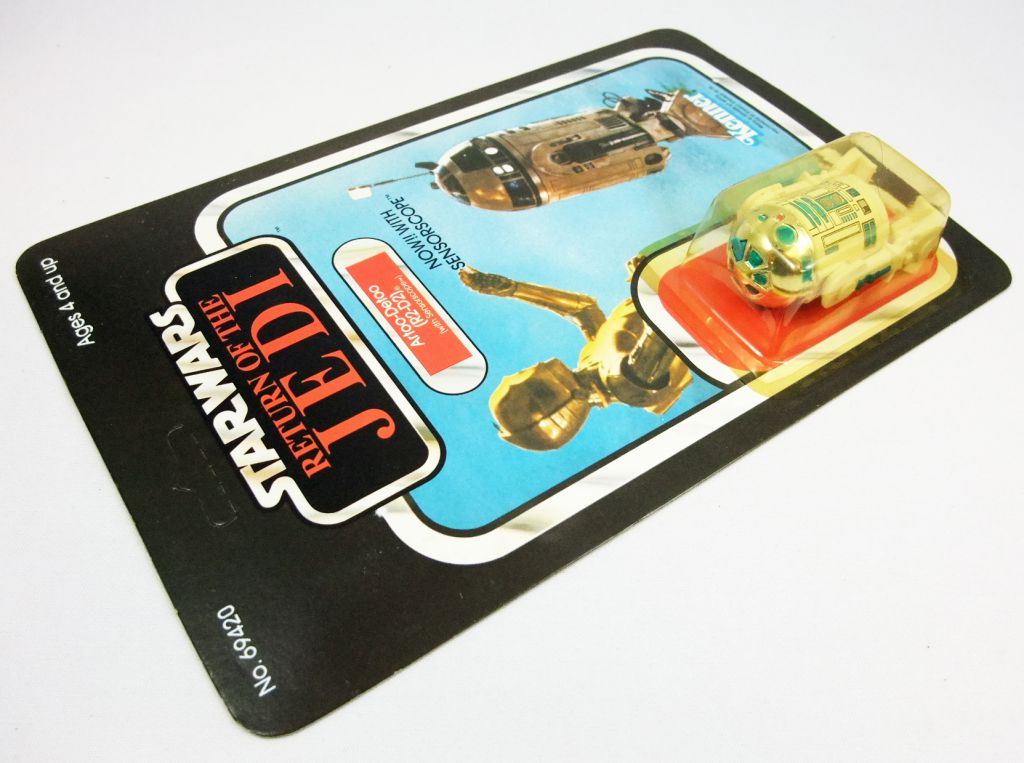Star Wars ROTJ 1983 - Kenner 65back - Artoo-Detoo R2-D2 (with Sensorscope)