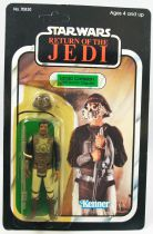 Star Wars ROTJ 1983 - Kenner 65back - Lando Calrissian (Skiff Guard Disguise)