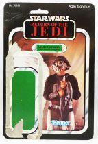 Star Wars ROTJ 1983 - Kenner 65back - Lando Carrissian (Skiff Guard Disguise)