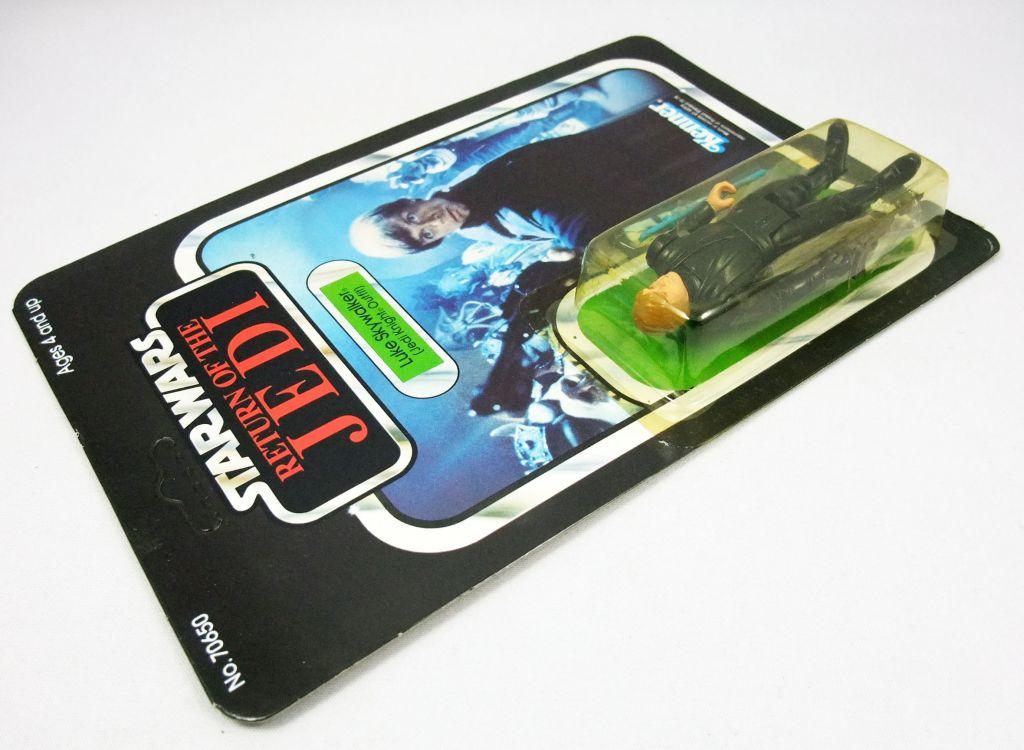 Star Wars ROTJ 1983 - Kenner 65back - Luke Skywalker (Jedi Knight Outfit) blue lightsaber