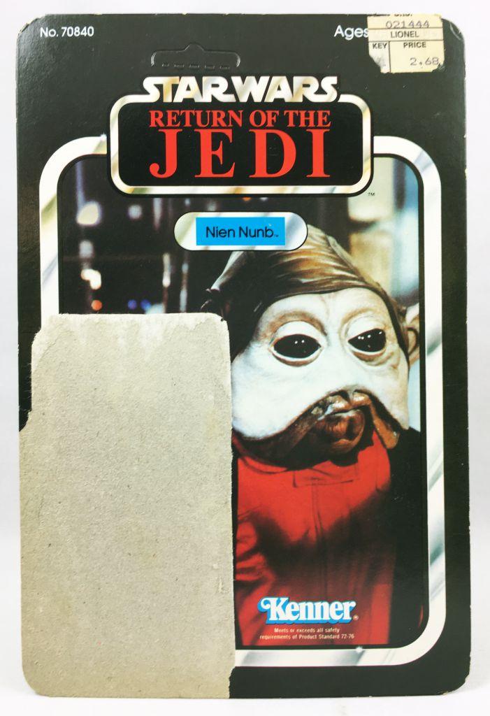 Star Wars ROTJ 1983 - Kenner 65back - Nien Nunb