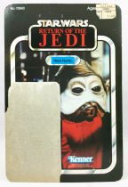Star Wars ROTJ 1983 - Kenner 65back - Nien Nunb