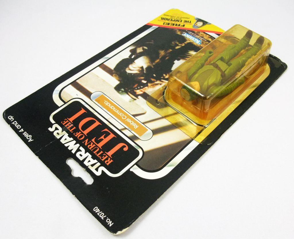 Star Wars ROTJ 1983 - Kenner 65back - Rebel Commando