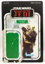 Star Wars ROTJ 1983 - Kenner 65back - See-Threepio (C-3PO) with Removable Limbs
