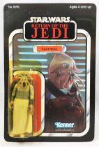 Star Wars ROTJ 1983 - Kenner 65back - Squid Head