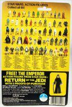 Star Wars ROTJ 1983 - Kenner 65back - Zuckuss
