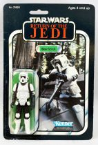 Star Wars ROTJ 1983 - Kenner 65back A - Biker Scout
