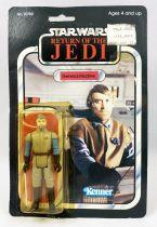 Star Wars ROTJ 1983 - Kenner 65back A - General Madine