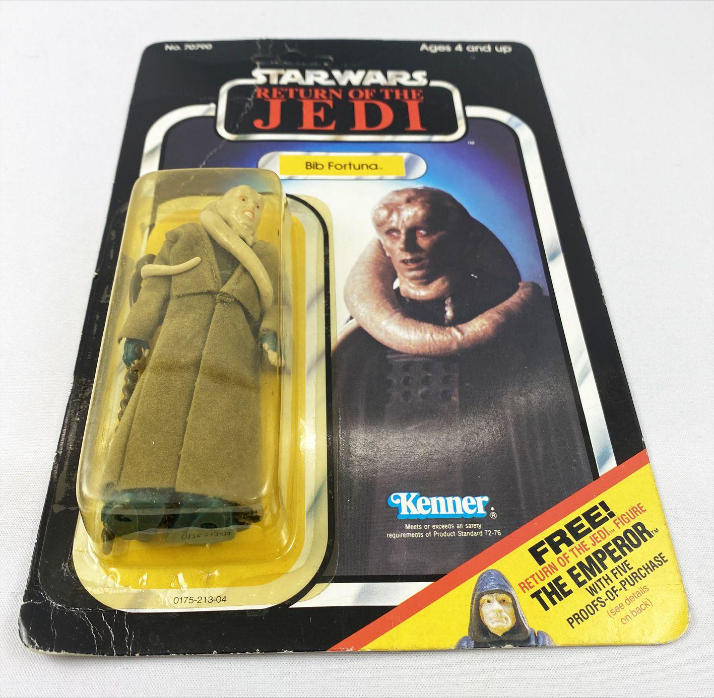 Star Wars ROTJ 1983 - Kenner 65back C - Bib Fortuna