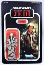 Star Wars ROTJ 1983 - Kenner 77back - Han Solo (in Trench Coat)