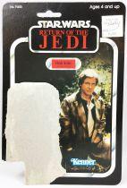 Star Wars ROTJ 1983 - Kenner 77back - Han Solo (in Trench Coat)