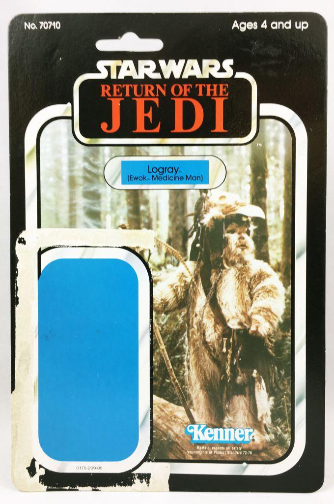 Star Wars ROTJ 1983 - Kenner 77back - Logray (Ewok Medecine Man)