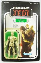 Star Wars ROTJ 1983 - Kenner 77back - See-Threepio (C-3PO) with Removable Limbs