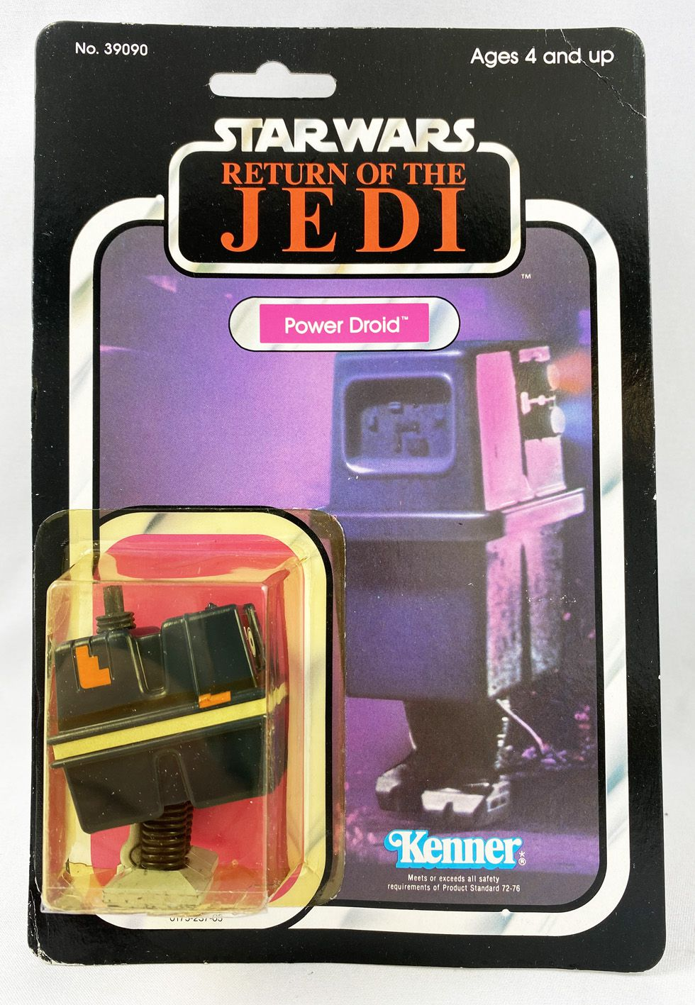 Star Wars ROTJ 1983 - Kenner 77back A - Power Droid