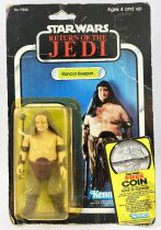 """Star Wars ROTJ 1983 - Kenner 77back A - Rancor Keeper \""""Free Coin offer\"""""""