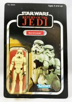 Star Wars ROTJ 1983 - Kenner 77back A - Stormtrooper