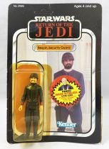 Star Wars ROTJ 1983 - Kenner 77back B - Bespin Security Guard