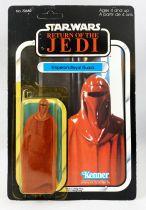 Star Wars ROTJ 1983 - Kenner Canada 77back - Emperor\'s Royal Guard