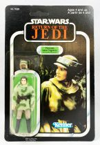 Star Wars ROTJ 1983 - Kenner Canada 77back - Princess Leia Organa (in Combat Poncho)