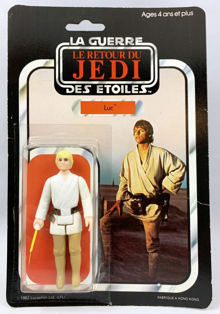 Star Wars ROTJ 1983 - Meccano 45back - Luc (Luke Skywalker)