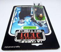 Star Wars ROTJ 1983 - Meccano 65back - Luc Tenue de Chevalier Jedi (Luke Jedi Knight)