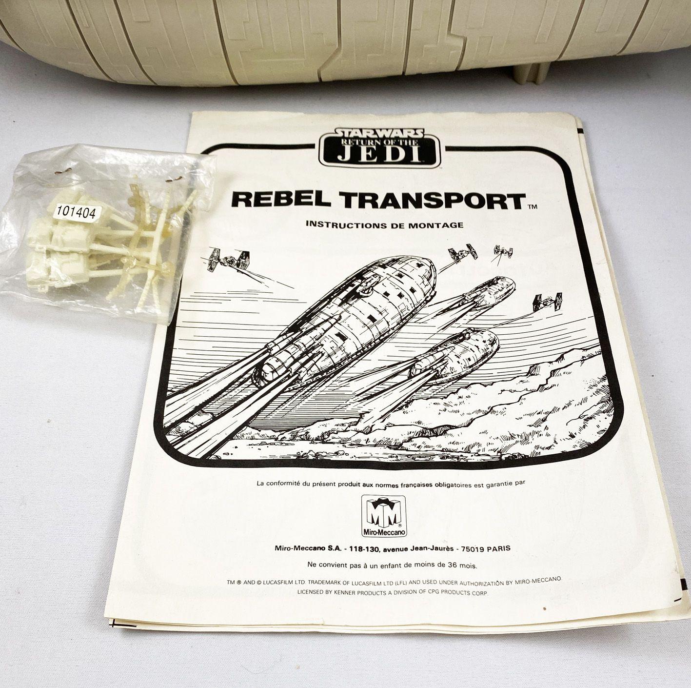 Star Wars ROTJ 1983 - Palitoy/Miro Meccano - Rebel Transport (occasion en boite)