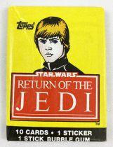 Star Wars ROTJ 1983 - Topps Trading (1st Series) Cards Wax Pack (Luke Skywalker)