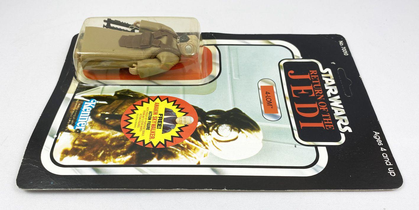 Star Wars ROTJ 1984 - Kenner 77back B - 4-Lom