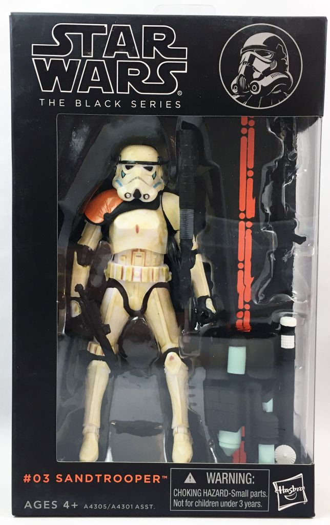 Star Wars The Black Series 6\'\' - #03 Sandtrooper