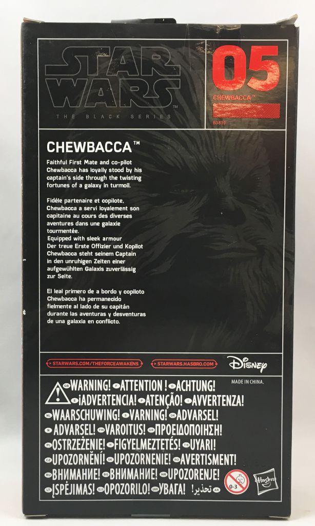 Star Wars The Black Series 6\'\' - #05 Chewbacca