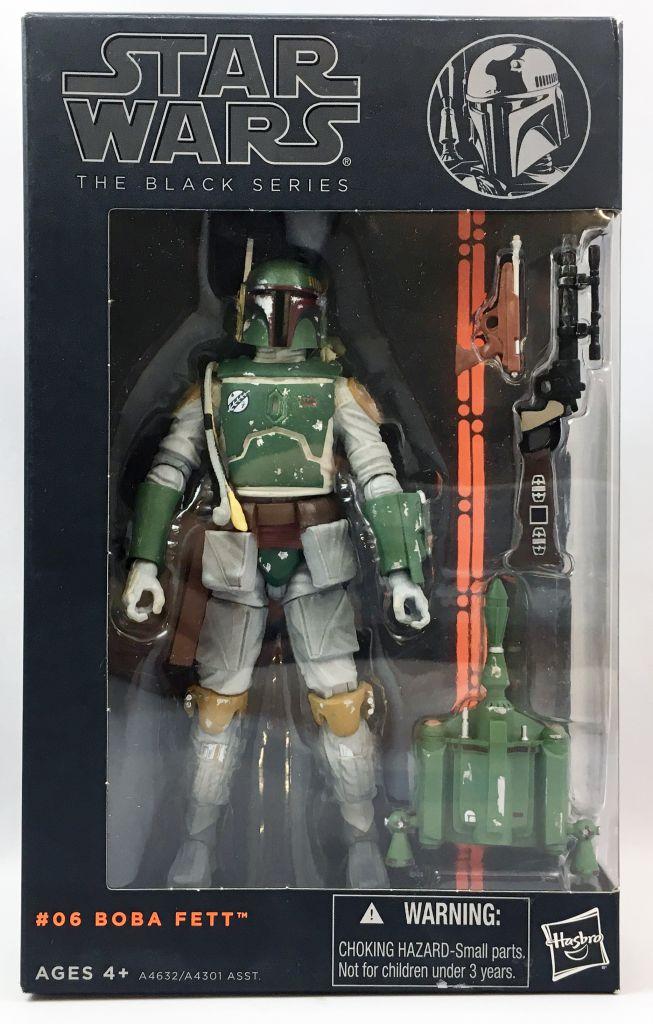 Star Wars The Black Series 6\'\' - #06 Boba Fett