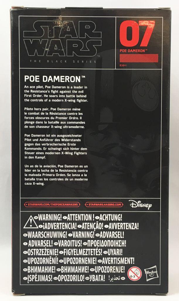 Star Wars The Black Series 6\'\' - #07 Poe Dameron (X-Wing Pilot)