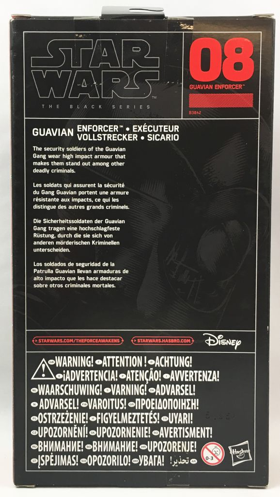Star Wars The Black Series 6\'\' - #08 Guavian Enforcer