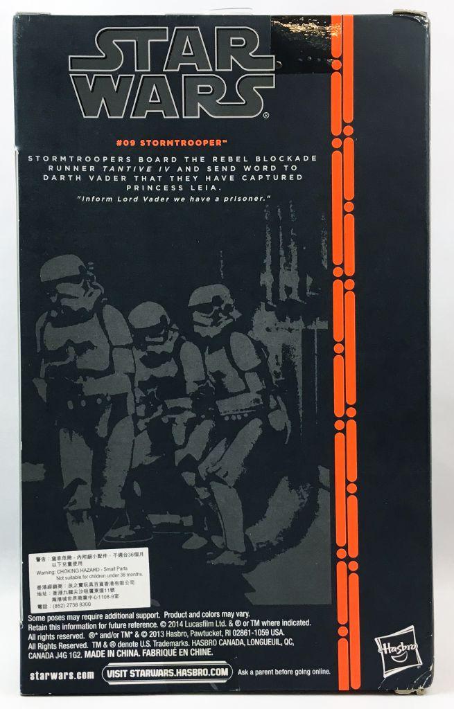 Star Wars The Black Series 6\'\' - #09 Stormtrooper