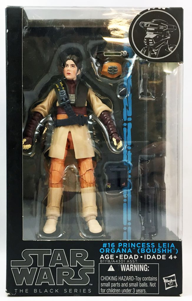Star Wars The Black Series 6\'\' - #16 Princess Leia Organa (Boushh)