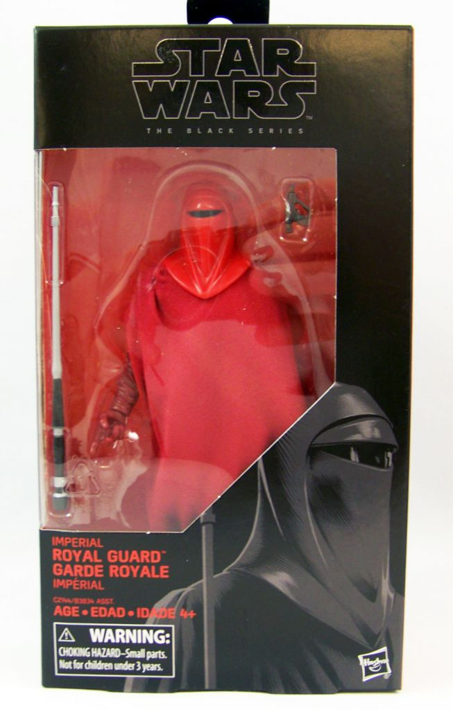 """STAR WARS 6/"""" THE BLACK SERIES IMPERIAL ROYAL GUARD #38 ACTION FIGURE HASBRO"""